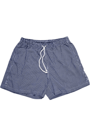 Calabrese 1924 Navy and White Stripe Swim Shorts