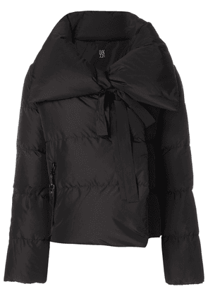 Bacon cropped puffer jacket - Black