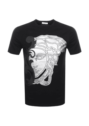 d1efdc6ad2f Versace Collection Medusa Logo T Shirt Black