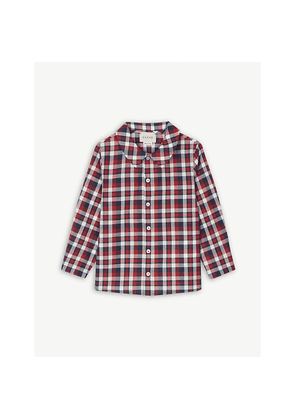 Checked cotton shirt 12-18 months