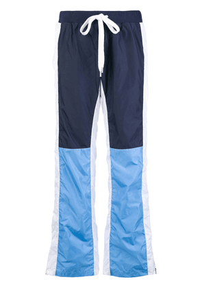 Each X Other colour blocked track trousers - Blue