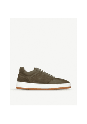 LT 05 mixed leather trainers