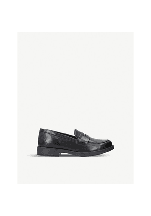 Agata leather penny loafers 4-7 years