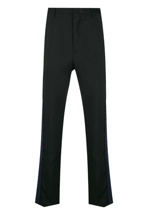 Lanvin side striped tailored trousers - Black