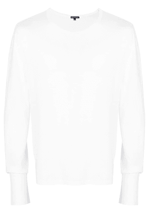 Ann Demeulemeester long sleeve T-shirt - White