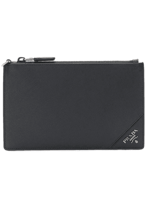 Prada zipped coin pouch - Black