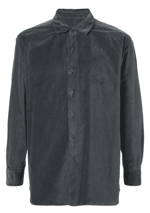 Casey Casey textured buttoned shirt - Grey