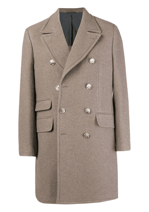 Hackett double breasted coat - Nude & Neutrals