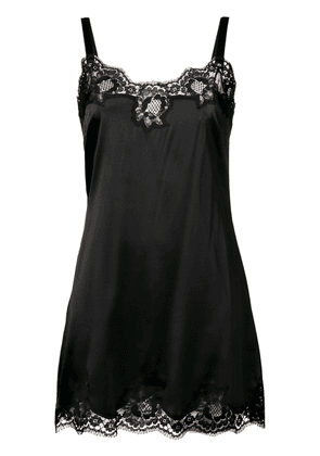 Dolce & Gabbana lace night dress - Black