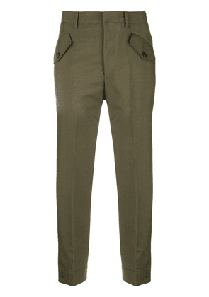No21 cropped trousers - Green