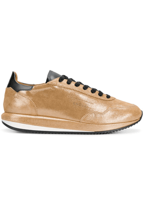 Ghoud lace-up sneakers - Metallic