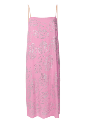 No21 embellished cami dress - Pink