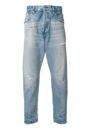 Citizens Of Humanity cropped loose fit jeans - Blue