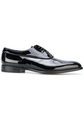 Fabi piped detail oxford shoes - Black