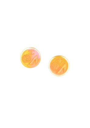 Chanel Vintage CC logo pump clip-on earrings - Pink