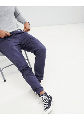 Brave Soul Drawcord Cotton Trousers