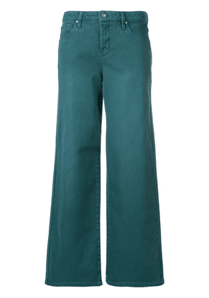 Cotélac wide leg trousers - Green