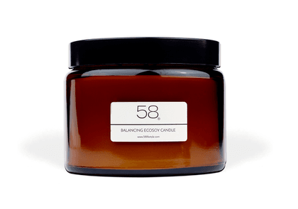 58 Lifestyle Mood-Boosting Luxury Home EcoSoy Candle