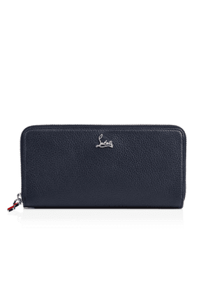 Christian Louboutin Panettone Wallet Navy Calfskin - Accessories