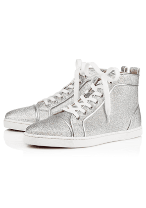 Christian Louboutin Bip Bip Woman Orlato Lurex SILVER Crepe satin/Satin/Lurex - Women Shoes