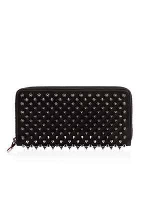 Christian Louboutin Panettone Wallet Black Calfskin - Accessories