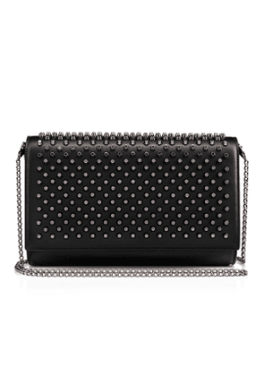 Christian Louboutin Paloma Clutch Black Calfskin - Handbags