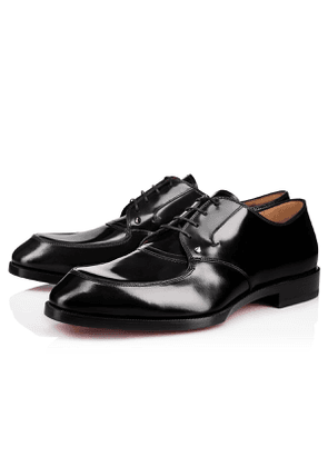 Christian Louboutin Thomas Ii Calf Abrasivato BLACK Calf - Men Shoes