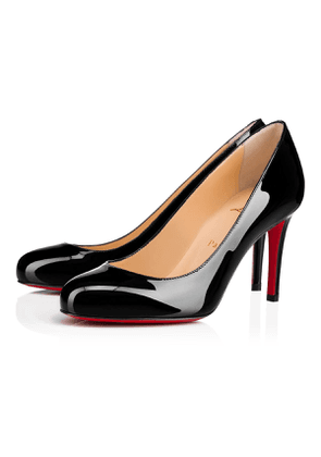 Christian Louboutin Fifille Patent 85 Black Patent Calfskin - Women Shoes