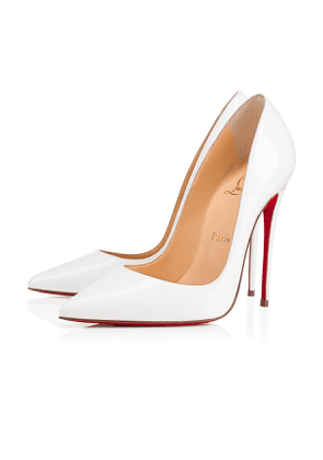 Christian Louboutin So Kate Patent 120 Latte Patent Calfskin - Women Shoes