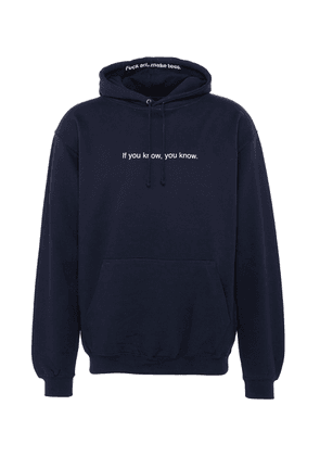 'If You Know, You Know' print unisex hoodie