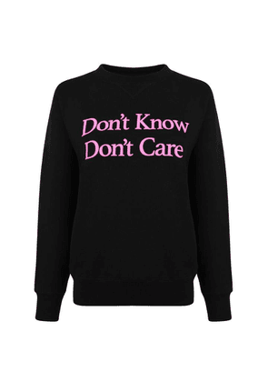 ASHLEY WILLIAMS DonT Know DonT Care Sweatshirt