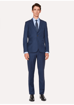 The Soho - Men's Tailored-Fit Navy Wool Suit