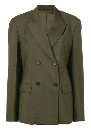 No21 double-breasted blazer - Green