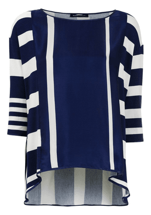 Gloria Coelho Striped blouse - Blue