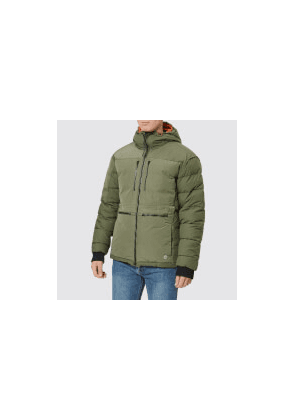 e2f8b5d67978 Nigel Cabourn X Peak Performance 2.0 Men s Frost Down Jacket - Base Camp  Green - S