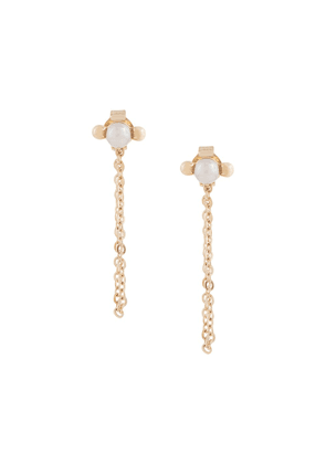 Karen Walker Vermeer Pearl earrings - Gold