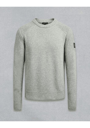 Belstaff Southview Knitted Jumper Grey