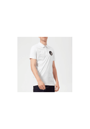9136756bc Versace Collection Men's Small Logo Polo Shirt - Bianco - S - White