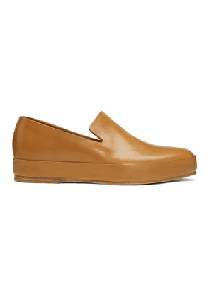 Feit Tan Hand Sewn Loafers