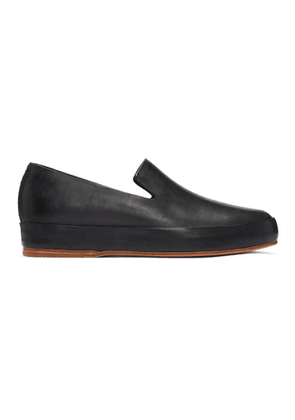 Feit Black Hand Sewn Loafers