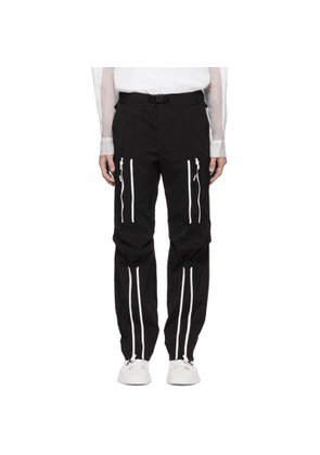 99% IS Black Bondage Lounge Pants