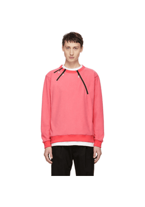99% IS Pink 3 Zip Sweatshirt
