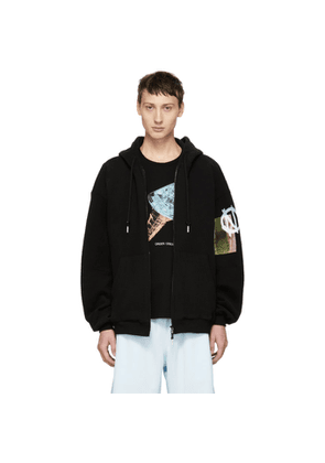 99% IS Black Buckle Hoodie
