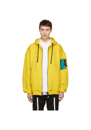 99% IS Yellow Buckle Hoodie