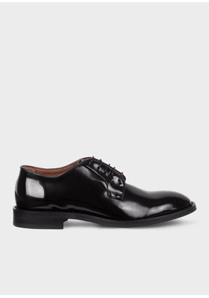 Women's Black Patent Leather 'Chester' Flexible Travel Shoes