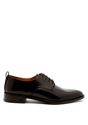 Ami - Leather Derby Shoes - Mens - Black