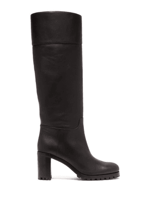 hot sale online 21cf5 99b7a Christian Louboutin | Marmara 85 Leather Knee High Boots ...