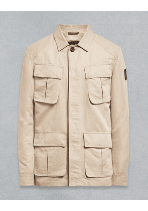 Belstaff Waitsfield Shirt Jacket White UK 36 /