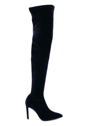 Alberto Gozzi thigh-length boots - Blue