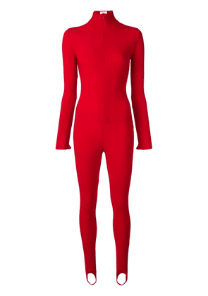 Atu Body Couture fitted jumpsuit - Red